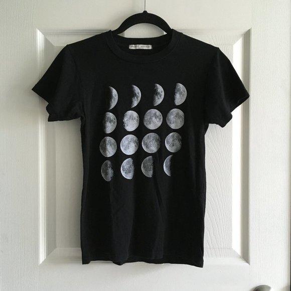 Brandy Melville Moon Phase T-shirt